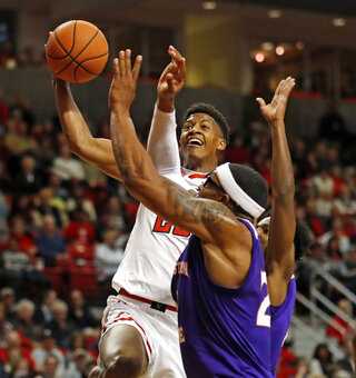 Northwestern St Texas Tech Basketball