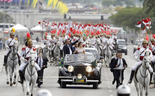 APTOPIX Brazil Bolsonaro Inauguration