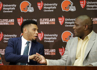 Joe Haden, Ray Farmer