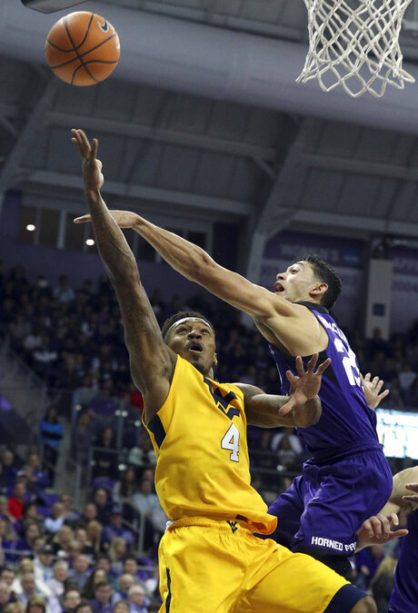 West Virginia TCU Basketball