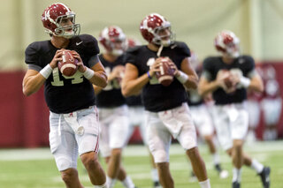 Alabama Football Practice Sept.16