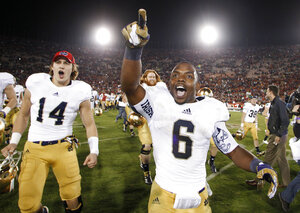 NCAA Notre Dame Appeal Football