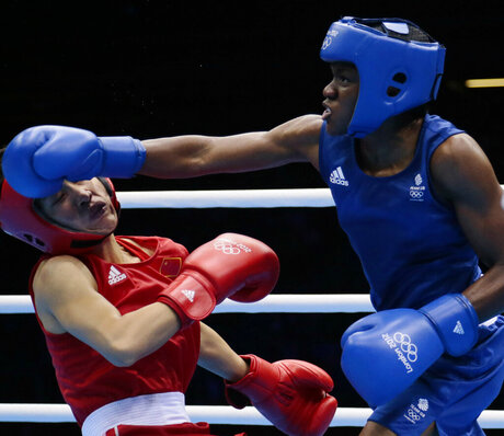 Womens Second Punch Olympics Boxing