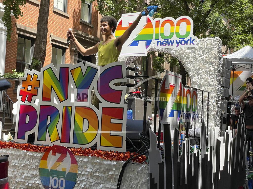 LGBTQ Gay Pride Celebration Day Parade - New York City - 6/27/21