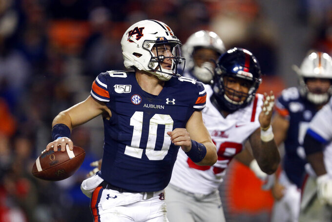 Nix, No. 11 Auburn hold on, 20-14 over Ole Miss