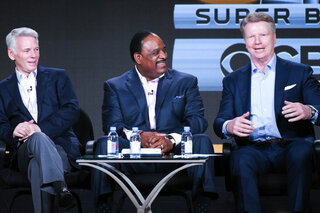 Sean McManus, James Brown, Phil Simms