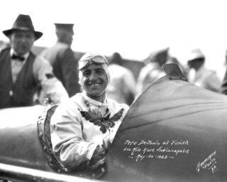 Indy 500 1925 Countfown Race 13 Auto Racing