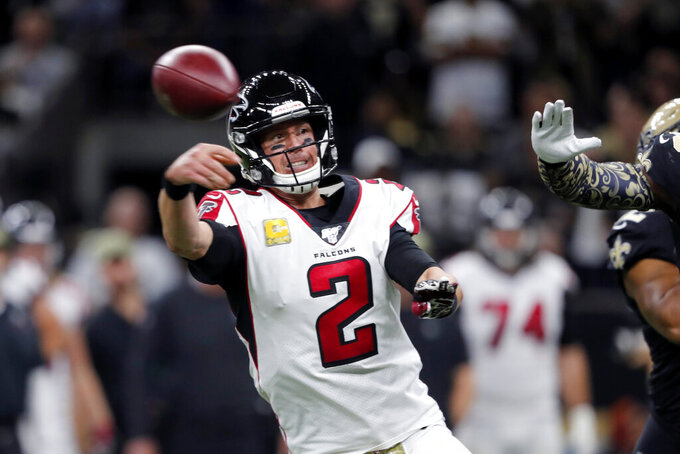 Atlanta Falcons at New Orleans Saints 11/10/2019