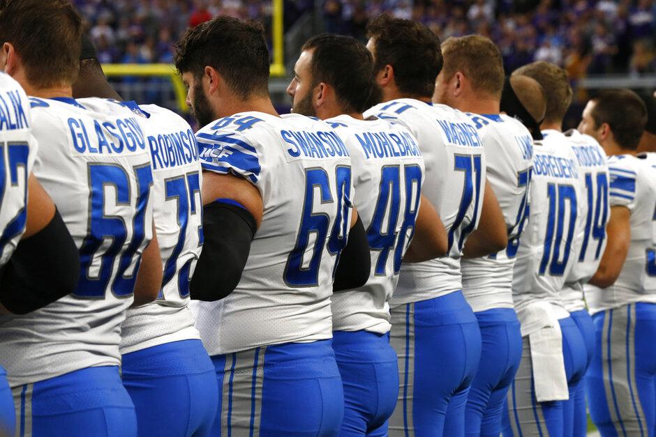 Lions Vikings Football