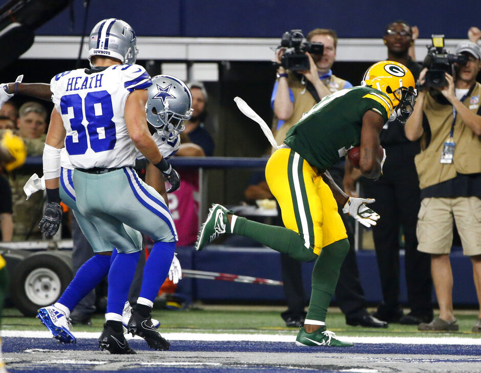 Jeff Heath, Davante Adams