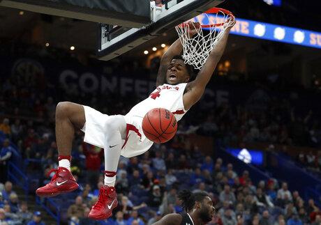APTOPIX SEC South Carolina Arkansas Basketball
