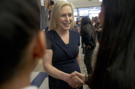 Election 2020 Gillibrand Texas