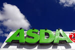 FILE - In this file photo dated Tuesday July 17, 2007, the sign of an Asda store in Wallington, England. Retail giant Walmart has agreed to sell its British chain of supermarkets, Asda, to the investors behind an international group of gas stations and food shops in a deal that values the company at 6.8 billion pounds ($8.8 billion). Brothers Mohsin and Zuber Issa, along with investors TDR Capital will acquire a majority of Asda, while Walmart will retain a minority stake and a seat of the board, the parties said in a joint statement issued Friday. Details of the deal weren't released. (AP Photo/Tom Hevezi, File)