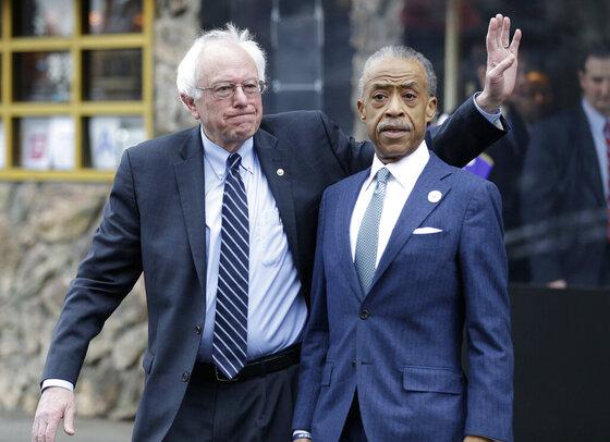 Bernie Sanders, Al Sharpton