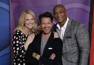 NBCUniversal Events - Season 2014 Monica Pederson, Nate Berkus, Eddie George