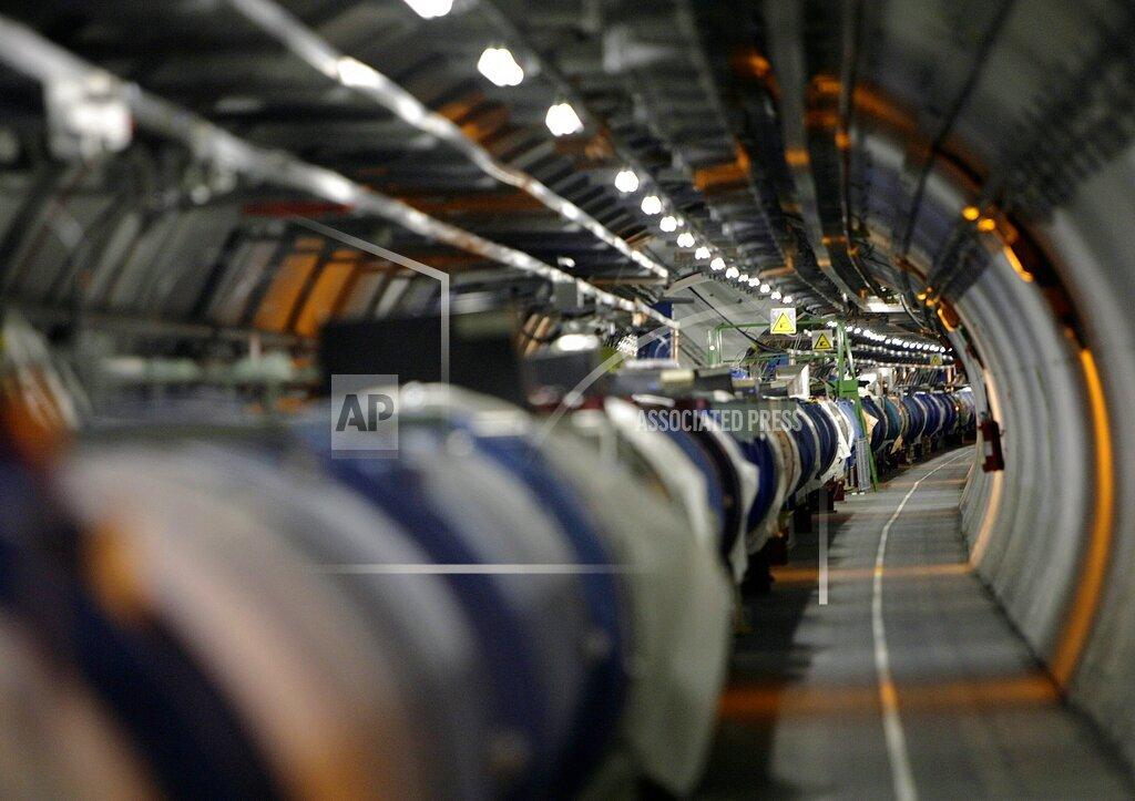 SWITZERLAND CERN LHC CRYOGENIC SYSTEM