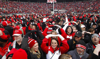 Ohio St Celebration Football