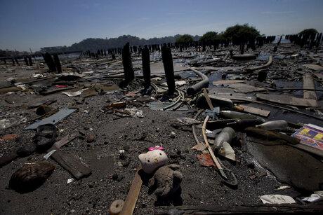 APTOPIX Brazil Rio 2016 Filthy Waters Slums