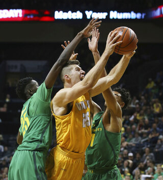 Chris Boucher, Alec Peters, Keith Smith