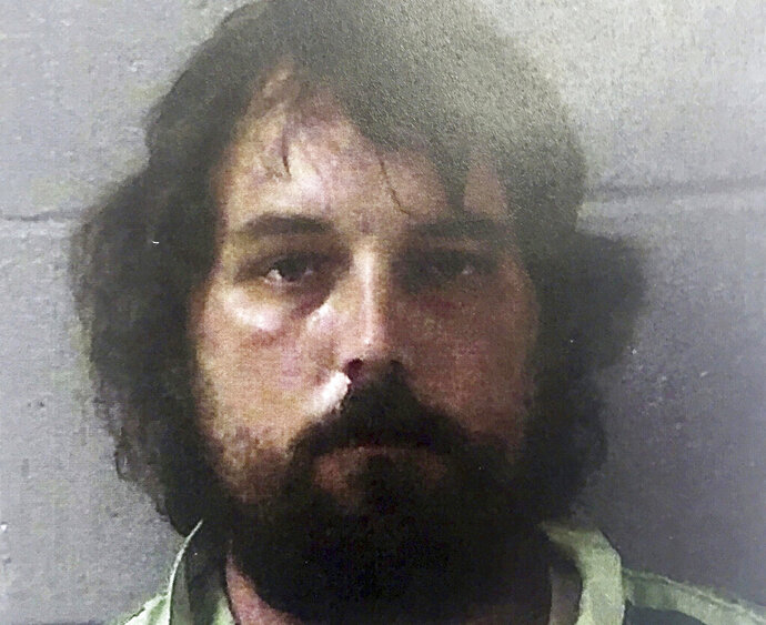 FILE - This Feb. 22, 2017, file photo provided by the Georgia Bureau of Investigation shows Ryan Duke. Duke, charged with killing teacher Tara Grinstead in 2005, has been granted a pretrial appeal by the Georgia Supreme Court. (Georgia Bureau of Investigation via AP, File)