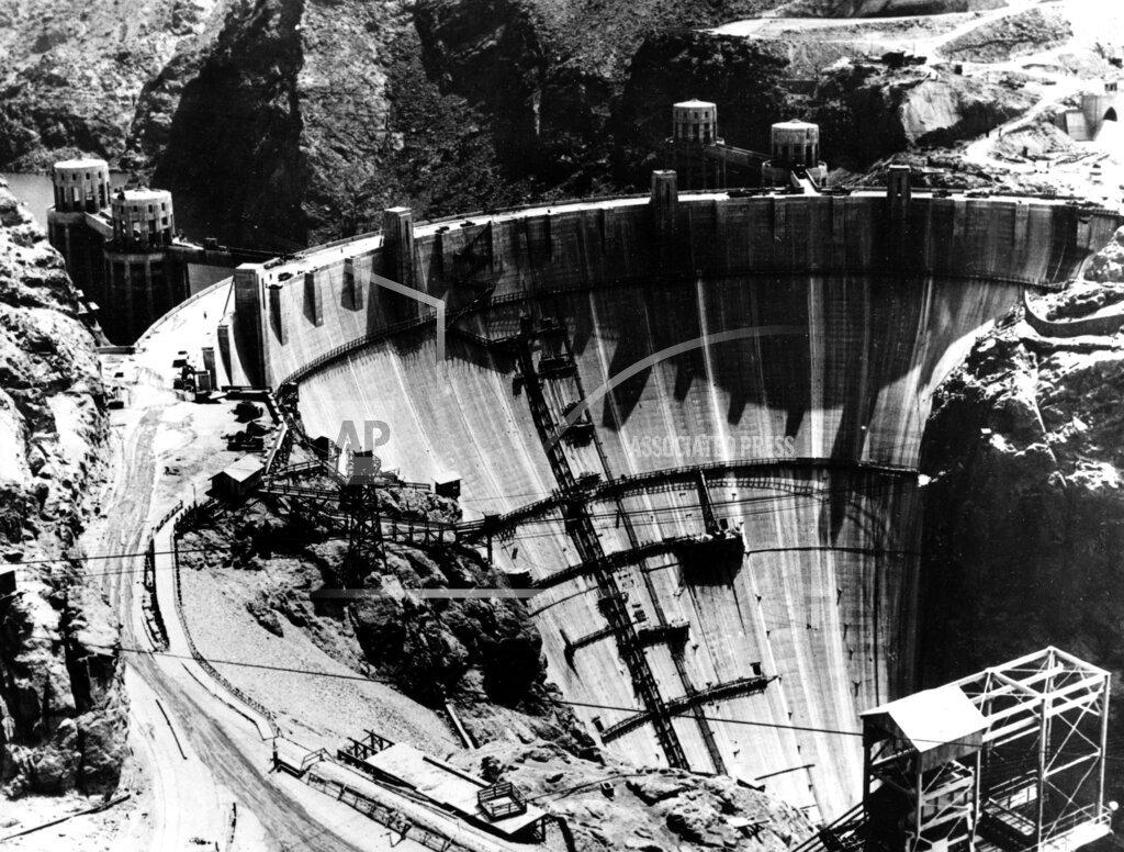 Associated Press Domestic News Nevada United States U.S. HOOVER DAM CONSTRUCTION