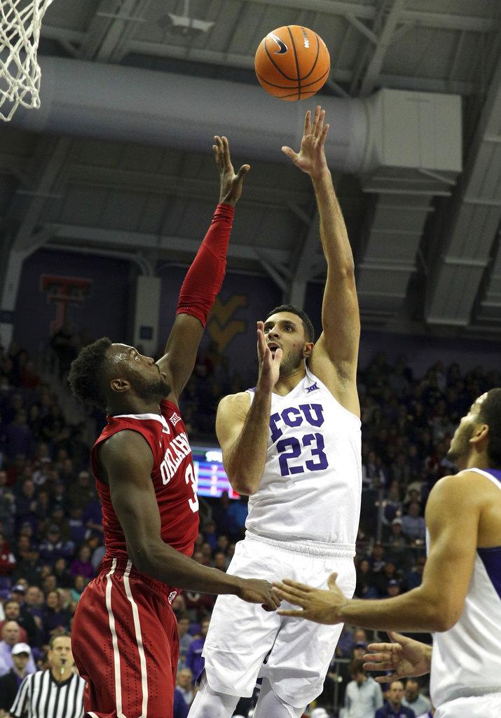 Oklahoma TCU Basketball