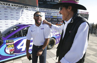 Darrell Wallace Jr., Richard Petty
