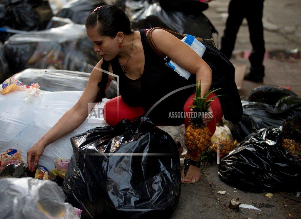 Venezuela Undone - Trash Pickers