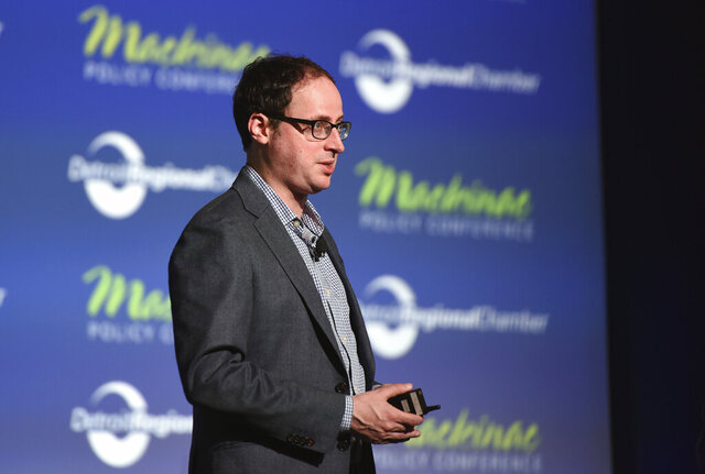 FILE - In this May 28, 2015, file photo Nate Silver, founder of FiveThirtyEight.com and best selling author of