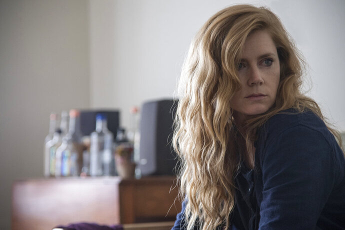 This image released by HBO shows Amy Adams in a scene from