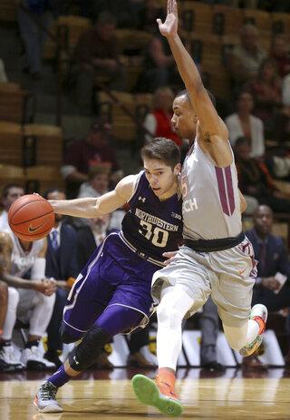 Northwestern Virginia Tech Basketball
