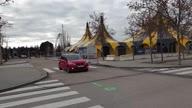 Spain COP25 Thunberg Car
