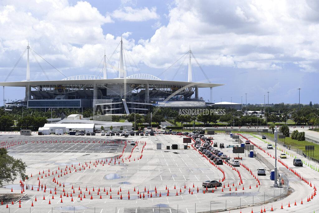 Coronavirus Drive Up Testing Continues In Florida