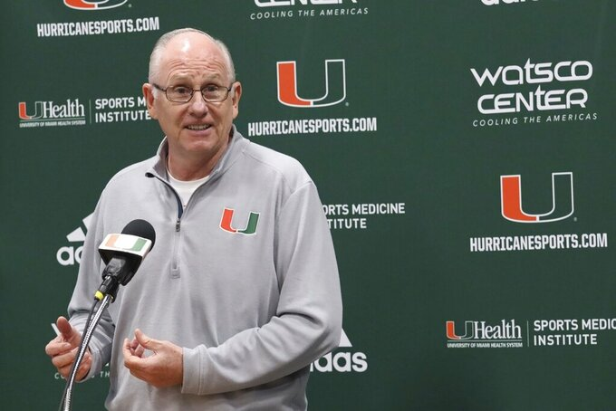 Smaller big man could help Miami Hurricanes improve