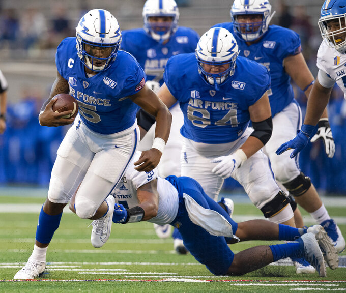 Air Force, Navy meet in what could be high-scoring matchup