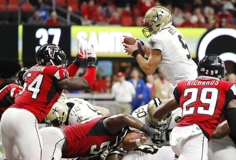 Saints Falcons Football