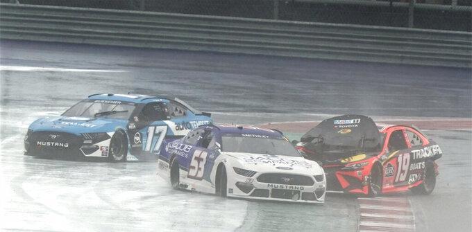 Chase Elliott wins rain-shortened NASCAR Cup debut in Austin