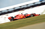 Ferrari driver Sebastian Vettel of Germany steers his car during the second Formula One practice session at the Hockenheimring racetrack in Hockenheim, Germany, Friday, July 26, 2019. The German Formula One Grand Prix will be held on Sunday. (AP Photo/Jens Meyer)