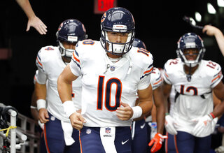 Bears Trubisky Football