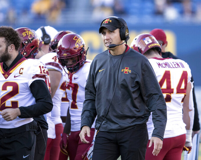 Texas Tech, Iowa State meet amid Baylor memories for both