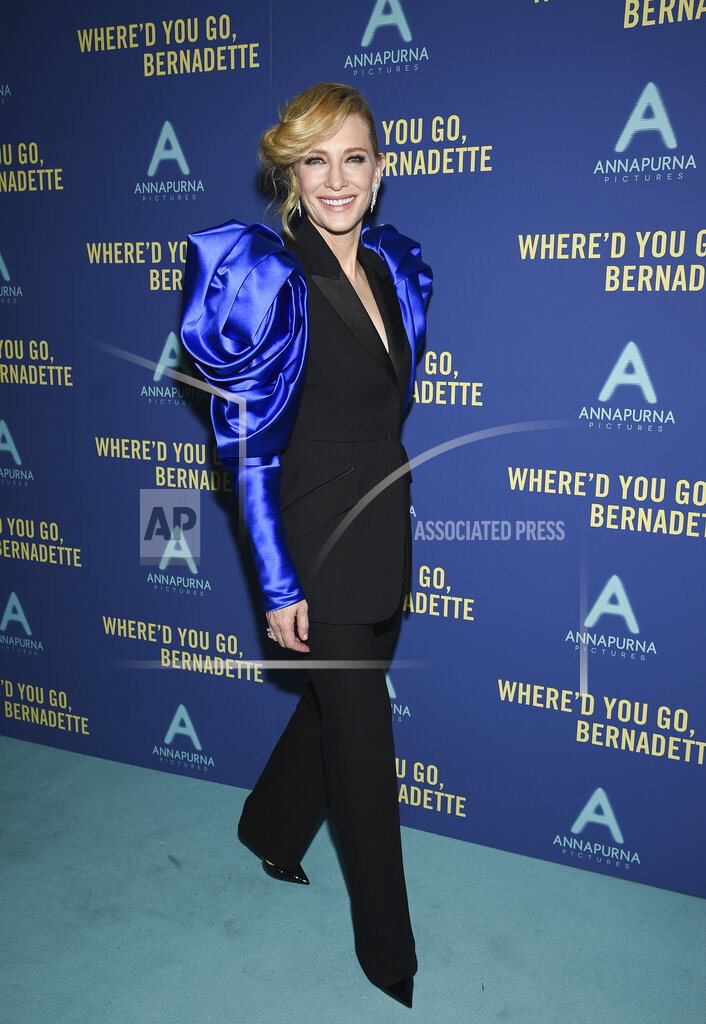 """NY Special Screening of """"Where'd You Go, Bernadette"""""""