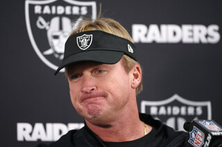 Raiders Gruden Football
