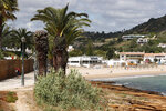 A view of the beach in Praia da Luz, in Portugal's Algarve coast, Thursday, June 4, 2020. German police said they have identified a suspect -- a 43-year-old German citizen currently imprisoned in his home country for a sexual crime. The suspect spent numerous years in Portugal, including in Praia da Luz around the time of McCann's disappearance. (AP Photo/Armando Franca)
