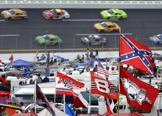 Fans and flags under scrutiny as NASCAR heads to Talladega