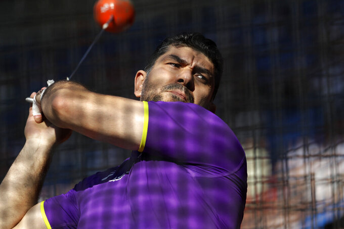 Olympic hammer champion Nazarov banned for doping