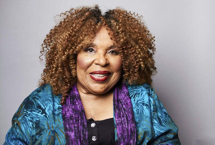 In this Oct. 10, 2018 photo, singer Roberta Flack poses for a portrait in New York. The 81-year-old music legend will be honored Saturday, Oct. 13, 2018, with a lifetime achievement award by the Jazz Foundation of America. (Photo by Matt Licari/Invision/AP)