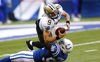 Drew Brees, Robert Mathis