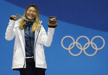 Chloe Kim The Champion