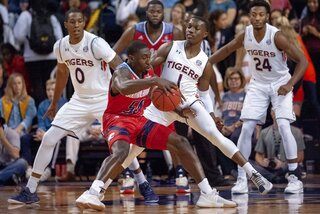 South Alabama Auburn Basketball