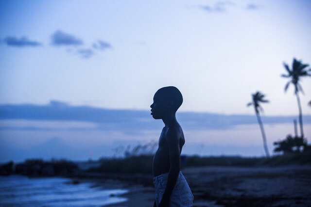 This image released by A24 Films shows Alex Hibbert in a scene from the film,